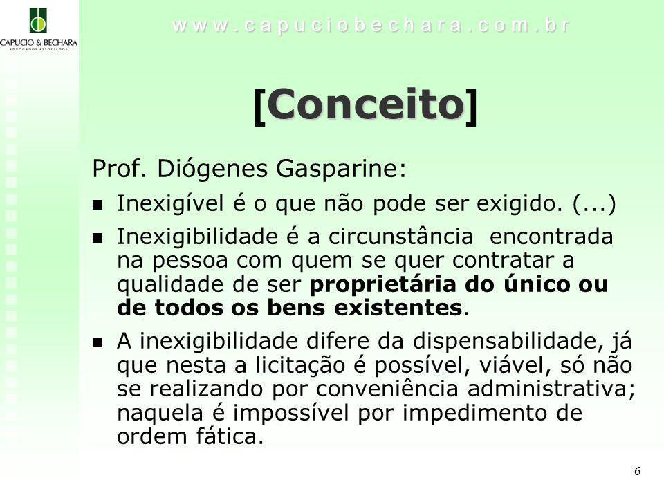 [Conceito] Prof. Diógenes Gasparine: